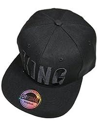Black in Black Snapback Cap
