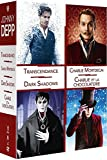 Johnny Depp: Transcendance + Charlie Mortdecai + Dark Shadows + Charlie et la chocolaterie