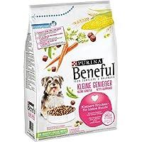 Beneful Purina Hundetrockenfutter Kleine Genießer (mit Rind und Gemüse), 2er pack (2 x 2.8kg)