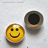 Minimagnet Smiley ca. 19 Ø mm
