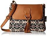 #2: Kanvas Katha Women's Sling Bag (Beige) (KKSNJQ012)
