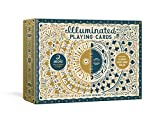 Illuminated Playing Cards: Two Decks with Game Rules and Tarot Guide (The Illuminated Art Series)