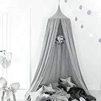 Bed Canopy for children, UltraGood Cotton Baby Bed Decoration (High 240cm)