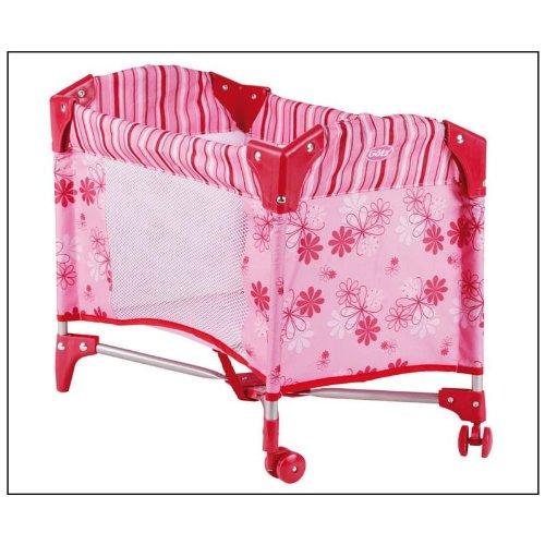 Gotz 3402121 Travel bed for dolls, Size: 46x30x39 cm