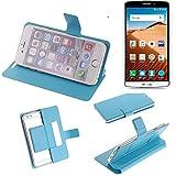 Flipcover Schutz Hülle für TP-LINK Neffos C5 Max, blau