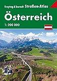 Straßenatlas Österreich 1:200.000 (freytag & berndt Autoatlanten)