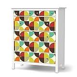 creatisto Möbel-Folie Sticker für IKEA Hemnes Kommode 6 Schubladen | Dekosticker Dekorfolien Möbel-Tattoo | Zimmer umgestalten Einrichtungsideen | Design Motiv Equality