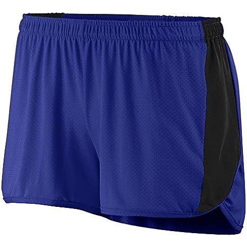 Augusta -  Pantaloncini sportivi  - Donna Multicolore Viola/nero XS