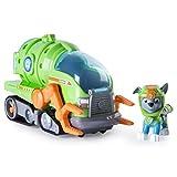Paw Patrol – Sea Patrol – Rocky – Minifigur + wandelbares Fahrzeug