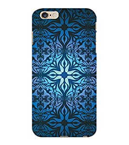 ColourCraft Beautiful Pattern Design Back Case Cover for APPLE IPHONE 6 PLUS