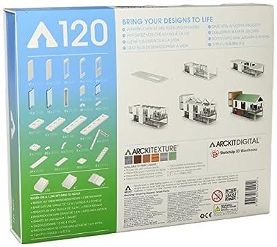 Arckit 120 Architectural Model Building Kit, Design and Build Construction Set