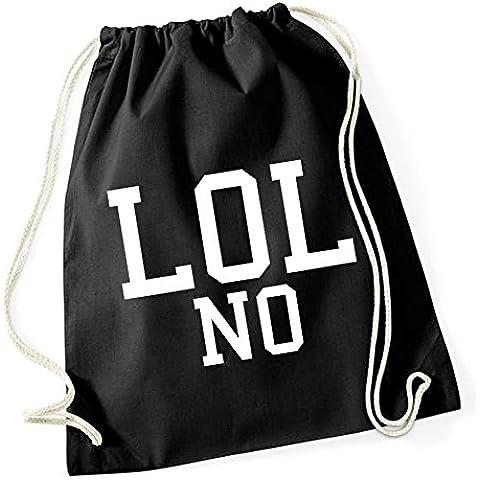 Lol No Bolsa De Gym Negro Certified Freak