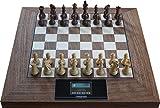Exklusiver Schachcomputer aus Holz, Pewatronic Grandmaster (mit Powerbank)