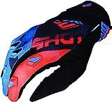 Shot Handschuhe devo ultimate KID, Neonblau, Orange, Größe 10/11 Jahre, 1 Paar