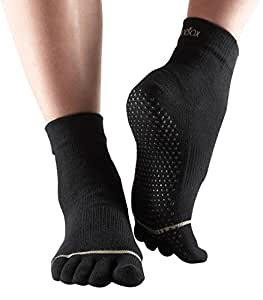 Toesox - With Toe - Black - Medium