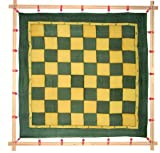 Kreul 810265 - Javana Spannrahmen, maximale Spannfläche ca. 90 x 90 cm, zum flexiblen Aufspannen von Seide und Textilien