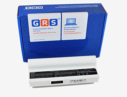 GRS Akku Asus Eee PC 1000H mit 6600 mAh, weiß