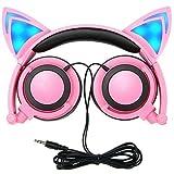 MallTEK Cat Ear - Auriculares para Niños, Meagoo Kids Headphones