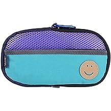 OSTENT Bolsa protectora suave de viaje Bolsa de almacenamiento Carcasa Funda compatible con Sony PS Vita PSV - Color púrpura