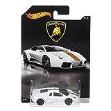 #8: Hot Wheels Lamborghini Reventon Ivory Toy Car - White