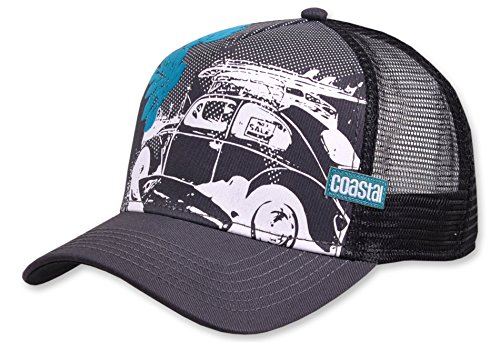 Coastal Trucker Cap Beetle Dark Grey - One-Size