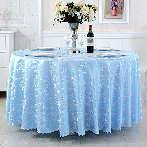 BSNOWF- Nappes Nappe ronde de restaurant de l'hôtel Rectangle Table de salle à manger Tissu Accueil Table basse Table en option ( taille : 100*100cm )