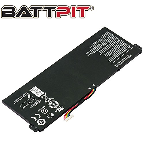 Battpit Laptop Akku für Acer AC14B3K AC14B8J AC14B8K KT.00403.027 KT.0040G.004 Aspire E3-111 E3-112 E5-771 E5-771G ES1-421 ES1-512 V3-111 V3-371 - [2200mAh/33Wh]