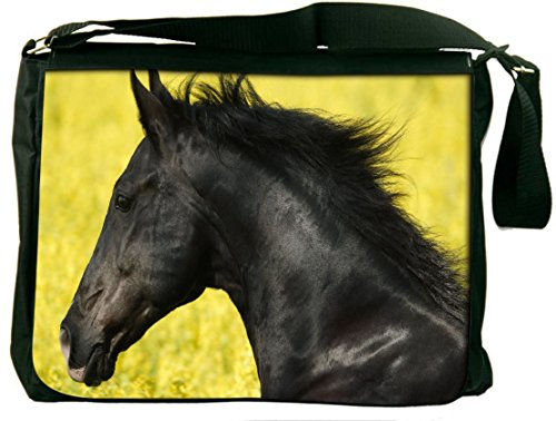 Snoogg Laptop Messenger Shoulder Bag - Borsa scuola per la scuola o il lavoro per 13,3-15 Inch Laptop Crossbody Bauletto Bookbag Laptop Bag Borsa di lavoro