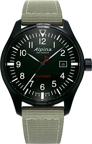 Alpina Geneve Startimer Pilot AL-240B4FBS6 Reloj de Pulsera para hombres Legibilidad Excelente