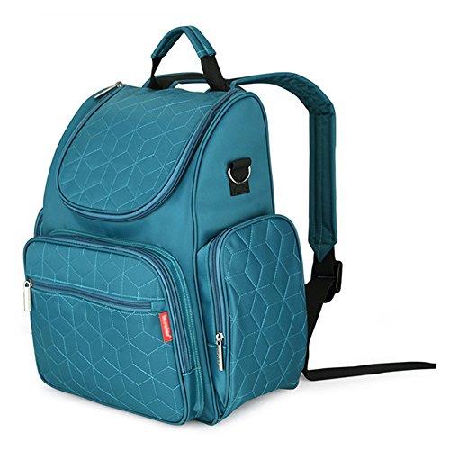 Yimidear Wasserdicht Multifunktion - Rucksäcke Wasserdichte Wickeltasche Baby Reisen Tasche