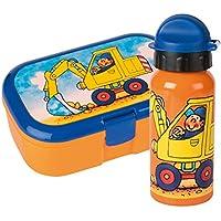 Lutz Mauder Set Lunchbox mit Trinkflasche (Bagger) preisvergleich bei kinderzimmerdekopreise.eu