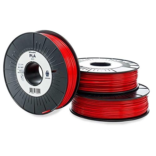 Ultimaker Cartouche de filament PLA – 2.85mm – Rouge – 750 g