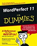 WordPerfect 11 For Dummies by Margare...