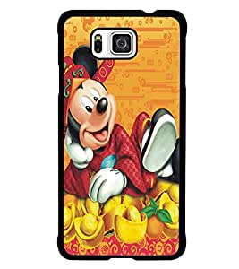 PRINTSWAG CARTOON CHARACTER Designer Back Cover Case for SAMSUNG GALAXY ALPHA