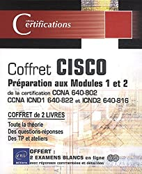 Cisco - coffret de 2 livres