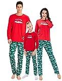 RAISERVEN Familie Passenden Weihnachtsbaum Set Langarm Schlafanzug Nachtwäsche Top Hosen Sets für Mama