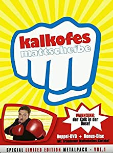 Kalkofes Mattscheibe Vol. 1 (Special Limited Edition, 3 DVDs, Metalpack)