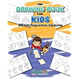 The Drawing Book for Kids: 365 Daily Things to Draw, Step by Step (Art for Kids, Cartoon Drawing) (Woo! Jr.)
