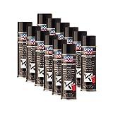 12x LIQUI Moly 6111 Unterbodenschutz Bitumen schwarz Spray Unterboden-Schutz 500