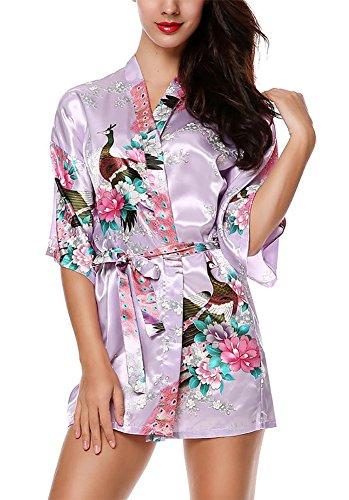 HonourSport Kimono Mujer Japones Vestido Corto Chaqueta