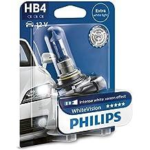 Philips WhiteVision effet xénon HB4 pour éclairage avant 9006WHVB1, blister de 1