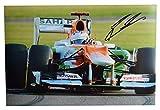 Sportagraphs Paul Di Resta SIGNED 12x8 Photo Autograph Formula 1 SPORT AFTAL CLEARANCE & COA