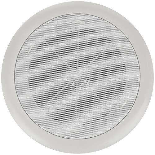 BeMatik - Altavoz de Techo Redondo de 10W 230 mm 6.5