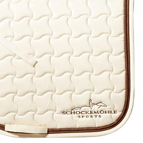 Schockemöhle Champion DL WB 1600-00030 Dressage Saddle Cloth Cream / Brown