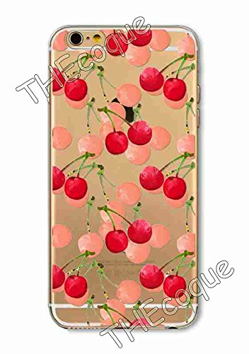 Coque RIGIDE de qualite IPHONE 6/6s - Fruit ananas pasteque fraise drole design Swag motif 5 DESIGN case+ Film de protection OFFERT 8