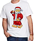 Renowned Men's Lego Santa white Small