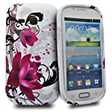 a7d5332c419 Accessory Master - Funda de silicona para Samsung Galaxy S III mini, diseño  de flores