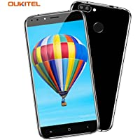 Teléfono Móvil Baratos, OUKITEL U22 3G Smartphone Libre 4 Cámaras (2MP + 8MP Front, 2MP + 13MP Rear) 5,5 pulgadas HD IPS Android 7.0 MTK6580A 1.3GHZ Quad Core 2GB RAM 16GB ROM Fingerprint GPS Dual Sim