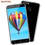Handy ohne Vertrag, Oukitel U22 5.5 Zoll Smartphone (Große Batterie 2700mAh, Android 7.0, 2GB +16GB Interner Speicher, 13MP + 8MP) Handy mit 2 Simkarten GPS Bluetooth WIFI-Schwarz