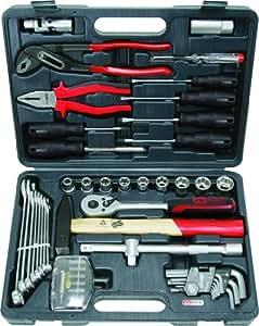 KS Tools 911.0650 Coffret de douilles F6 1/2'' CHROMEmat 51 pièces